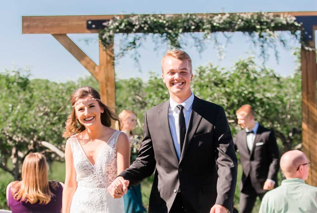 the Meadow Barn Ceremony